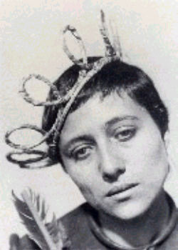 still from the movie the Passion of Joan of Arc