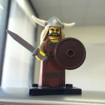 Ted as an opera singing lego